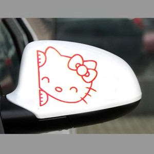 Stiker Spion Mobil Hello Kitty