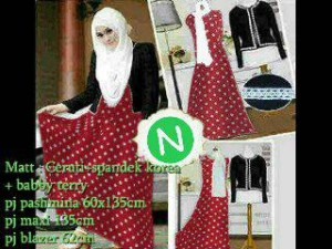 Set hijab 3in1