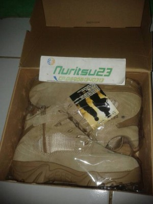 SEPATU TACTICAL/SAFETY DELTA FORCE 511 FOR BIKERS
