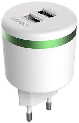 harga LDNIO Dual USB AC Adapter 2.4A for Android, iPhone, Raspberry Pi Tokopedia.com