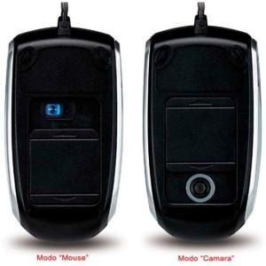 GENIUS Cam Mouse (2in1 Mouse & Camera) - Black