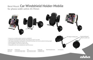 harga Holder Ahha Bend Mount Car Windshield Holder Tokopedia.com