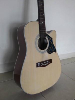 Gitar Akustik F500 Natural Jakarta Bonus Sarung Gitar