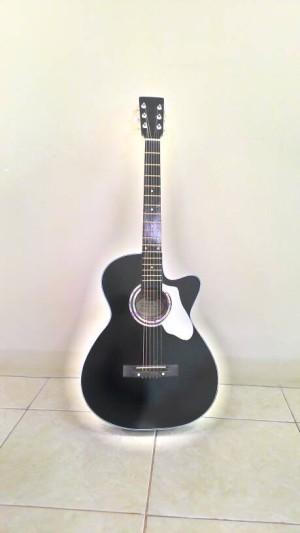harga Gitar Akustik Black Hitam Jakarta Tokopedia.com