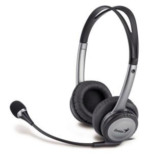GENIUS Headset HS-04 B - Black