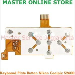 harga Sparepart Keyboard Plate Button Nikon Coolpix S2600 Repair Digital Cam Tokopedia.com