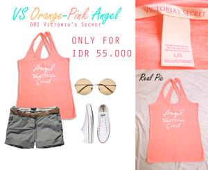 harga ORI Victoria's Secret Orange-Pink Angel Tokopedia.com