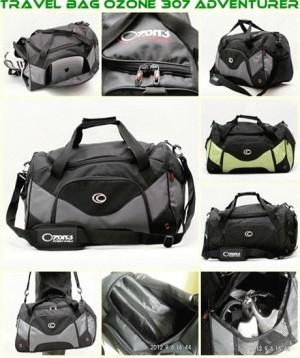 Travel Bag 307 Adventurer [HITAM] Bandung
