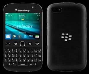 Blackberry 9720 TAM - Samoa - Black