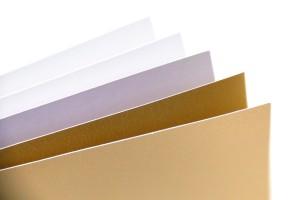 Fancy Paper 230 gsm A4 - Putih & Emas