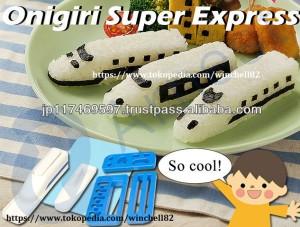 harga Cetakan Nasi Roller Sushi Kereta Api Express Train Bento Maker onigiri Tokopedia.com