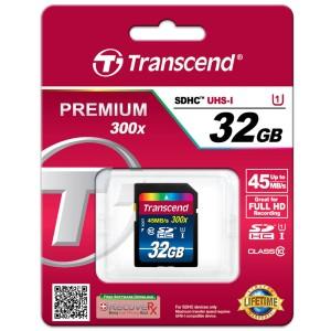harga SD CARD TRANSCEND 32GB CLASS 10 300x 45MB/s Tokopedia.com