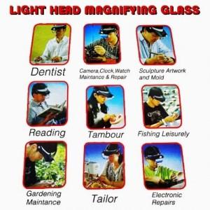 harga Light Head Magnifying Glass Tokopedia.com