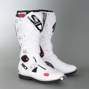 Sepatu trail offroad mx Sidi Crossfire 2 White motocross trabas Enduro