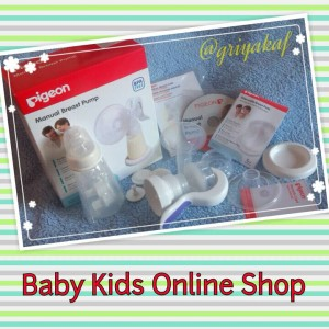 Pigeon Manual Breast Pump ( Pompa ASI )