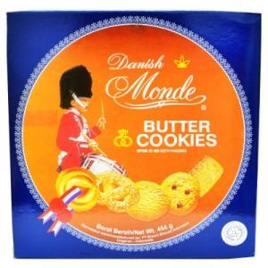 Jual Monde Butter Cookies Blue 908g Monde Butter Cookie