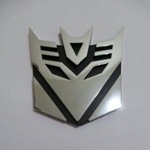 Emblem Transformers Decepticon XL