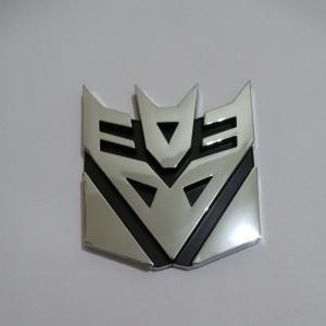 Emblem Transformers Decepticon Large