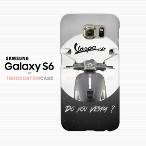 Do You Vespa Ask Samsung Galaxy S6 Custom Hard Case