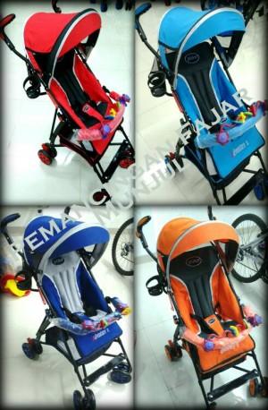 Stroller / Stoller / Kereta Bayi Pliko Adventure2 Baru,Murah &Simple