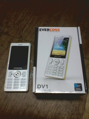 Handphone / HP Evercoss DV1 Dual Camera