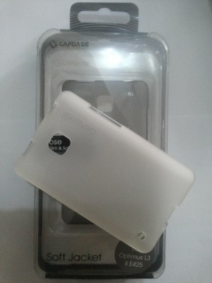 CAPDASE LG OPTIMUS L325 L3 II E425 / CASE SOFTJACKET ORIGINAL
