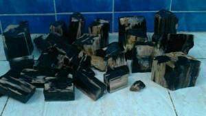 Bongkahan Kalimaya Banten/ Black opal (min order 1 Kg)