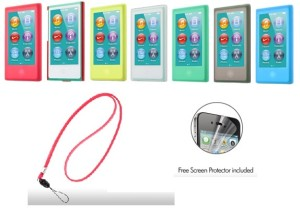 Apple Case|CAPDASE Soft Jacket Valueset iPod Nano 7