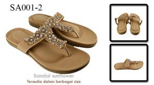 Sandal sunflower Tan SA001-2