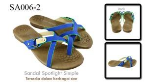 Sandal spotlight simple Blue SA006-2