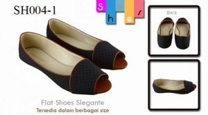 Flat shoes eleganteDark blue SH004-1