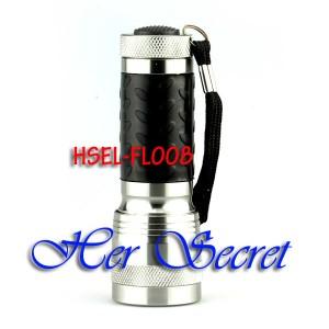 (HSEL-FL008) 14 LED Senter Mini Kecil - Metal