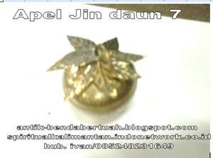 Apel Jin Daun 9 dalam wadah kuningan