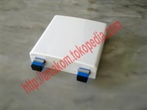 Roset Optik / Indoor Optical Outlet 2 Core SC Lengkap