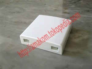 harga Roset Optik FTTH / Indoor Optical Outlet 2 Core SC Box Tokopedia.com