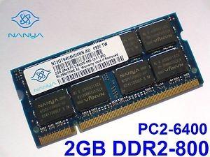 RAM LAPTOP DDR2 2GB (Memory Sodimm ddr2 2 Gb)