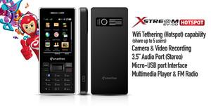 Smartfren Evdo Xstream Hotspot Hitam (Black) Garansi Resmi 1 Tahun