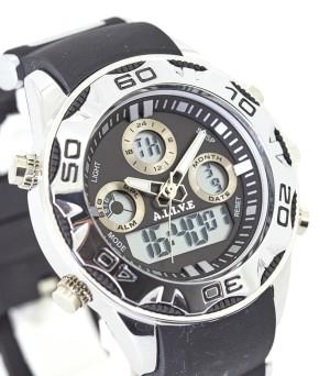 harga Jam Tangan Pria Melvon Watch Black A.L.I.V.E Sophie Martin Paris Tokopedia.com