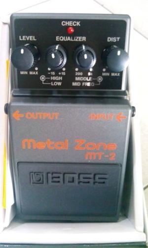 harga EFECT GITAR METAL ZONE BOSS MT-2 Tokopedia.com