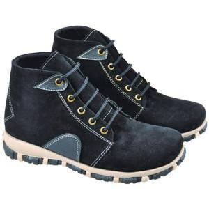 Sepatu Boot Hitam Anak Laki-laki JX641