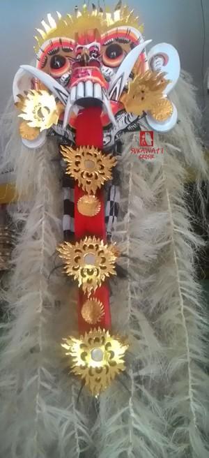 harga Topeng Rangda Ratu Leak Bali Rambut Putih Tokopedia.com