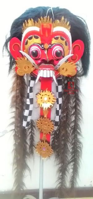 harga Topeng Rangda Leak Bali Rambut Coklat Tokopedia.com