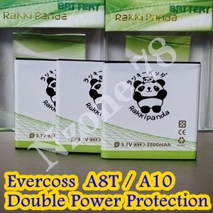 Baterai Cross Evercoss Andromeda A8T A10 Rakkipanda Double Power