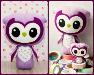 harga Boneka Violet Owl (Burung Hantu) Untuk Hadiah / Souvenir / Koleksi Tokopedia.com