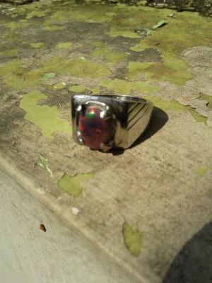 harga cincin batu black opal natural Tokopedia.com