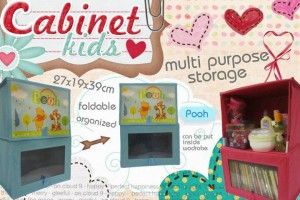harga Cabinet Kids Organizer Pooh Tokopedia.com