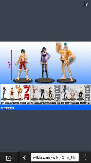 One Piece Figure Collection #1