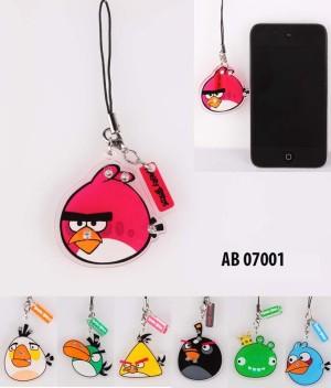 GANTUNGAN HP ARCYLIC ANGRY BIRD AB07001