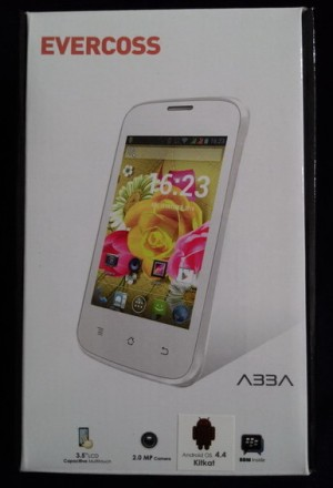 EVERCOSS A33A LCD 3.5 INCH, CAMERA 2 MEGAPIXEL BBM READY