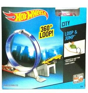 Hot Wheels Track Loop n Jump